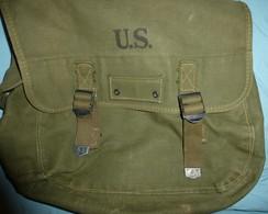 Para, RCP, Commando, Corée, Indochine  : Musette Mle 36 Fin De Guerre - Equipement
