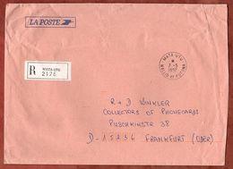 Einschreiben Reco, Mata-Utu Nach Frankfurt 1997 (90168) - Covers & Documents