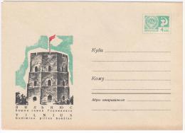 Lithuania USSR 1969 Vilnius, Gediminas Castle - Lithuania
