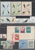 Oiseaux Birds Lot Used Oblitérés X 170 Items, 5 Scans - Colecciones & Series