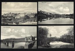Lote De 4 Tarjetas Postales De TUY Embarcadero / Norte, Etc GALICIA. Set Of 4 Old Postcard (Pontevedra) ESPANA / SPAIN - Pontevedra