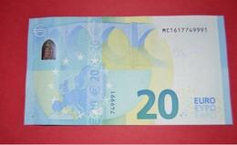 PORTUGAL - M003A1 * 20 EURO  M003 A1 - MC1617749991 - NEUF - UNC - 20 Euro
