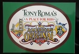 The American Original Carte Postale - Pubblicitari