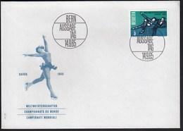 Switzerland Bern 1965 World Championship In Figure Skating Davos / FDC - Winter (Other)