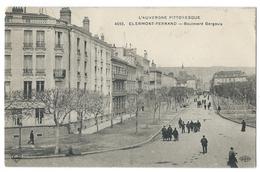 CLERMONT-FERRAND (63, Puy De Dôme) - Boulevard GERGOVIA - Animé - L'Auvergne Pittoresque - Clermont Ferrand