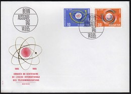 Switzerland Bern 1965 /  UIT, I.T.U. Congress 1965 - The 100th Anniversary Of The International Telecommunication Union - Winter (Other)