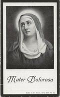 DP. SYLVIE SCHERPEREEL ° SWEVEGHEM 1851- + MOUSCRON 1923 - Religion & Esotericism