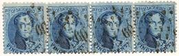 N° 15A In Strip Van 4 - 1863-1864 Médaillons (13/16)