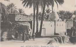 AK Scènes Types Marabout Dans L' Oasis Mauresque Bédouine Arabe Arabien Afrique Africa Vintage Tunisie Algerie Maroc ? - Africa