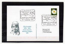 BRD, 2006, Karte (echt Gelaufen) Mit Michel 2451, Sonderstempel, Cilly Aussem - 1. Deutsche Wimbledon-Siegerin 1931 - Covers