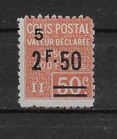 Colis Postal N° 64 ** TTBE - Cote Y&T 2020 De 26 € - Ungebraucht