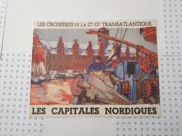 Les Croisieres De La Cie Generale Transatlantique - Programmes