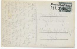 Ansichtskarte Schloß Lämberg - Stempel Deutsch-Gabel 11.X.1938 - Sudetenland - Covers & Documents