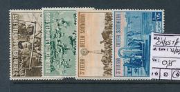 SOMALIA AFIS SASSONE 34/35 + A22/23 LH - Eritrea