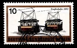 Berlin 1971  Mi.Nr: 380 Schienenfahrzeuge  Oblitèré / Used / Gebruikt - Used Stamps