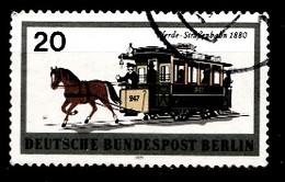 Berlin 1971  Mi.Nr: 381 Schienenfahrzeuge  Oblitèré / Used / Gebruikt - Used Stamps