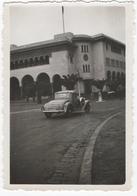 AUTOMOBILE. PHOTO. MAROC. CASABLANCA. ANNEES 1930. CABRIOLET à SITUER DEVANT LA POSTE DE CASABLANCA. - Automobiles