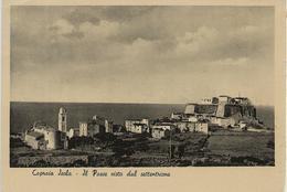 Isola Di Capraia - Il Paese Visto Da Settentrione - Livorno - H6061 - Livorno