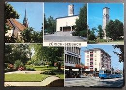 Zürich-Seebach Mehrbild/ Tram - ZH Zurich