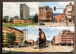 Zürich-Wiedikon Mehrbild/ Strasenansicht/Tram - ZH Zurich
