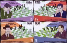 CUBA 2013, SPORT, CHESS, CAPABLANKA, COMPLETE MNH SET, GOOD QUALITY *** - Cuba