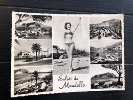 SALUTI DA MONDELLO  1956 - Palermo