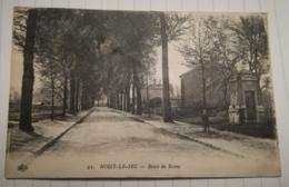93 - NOISY LE SEC - ROUTE DE ROSNY - CPA ECRITE AVANT 1920 - TRACES DE PLIAGE - Noisy Le Sec