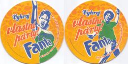 #D241-038 Viltje Fanta (Coca-Cola) - Sotto-boccale