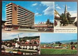 Oberwinterthur Mehrbild/ Bahnhof/ Flugzeuge - ZH Zurich