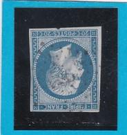 N° 14 B  PC 286  BAUD  ( 54 )  MORBIHAN    - REF 14112 - Ind 13 - Cote 100€ - 1853-1860 Napoléon III.