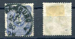 Deutsches Reich Michel-Nr. 34a Vollstempel - Geprüft - Oblitérés