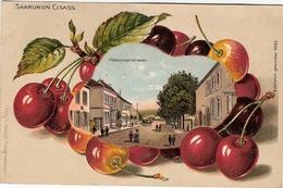 67 SARRE-UNION(cerises Gaufrées) - Sarre-Union