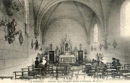 49 - Le Bosquet - Intérieur De La Chapelle ( Doué La Fontaine) - Durtal