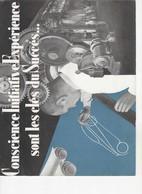 626 PUBLICITÉ  ANCIENNE Usines RENAULT   Billancourt,  Conscience, Initiative, Expérience,,,les Stations Service RENAULT - Voitures