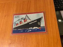 Carte Paquepot Le  NORMANDIE ( Port Offert ) - Bateaux