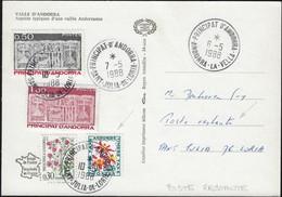 Andorre Français 1988. Timbres Taxe Des Deux Séries (Y&T 51 Et 55), Taxe De Poste Restante. Peu Commun - Segnatasse
