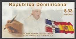2011 Dominican Dominicana Bishop Arnaiz Flags Complete Set Of 1 MNH - Dominicaanse Republiek