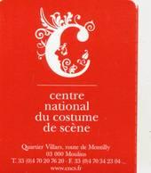 R15- Ticket D'entrée - Centre National Du Costume De Scène Collection Noureev - Moulins - 2015 - Tickets D'entrée