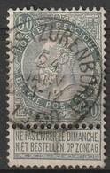 COB N° 63 Oblitération ANVERS (ZURENBORG) 1900 - 1893-1800 Fijne Baard