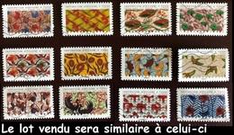 Série Complète France 2019 - Inspiration Africaine (lot Vendu Sera Similaire à Celui-ci). - France
