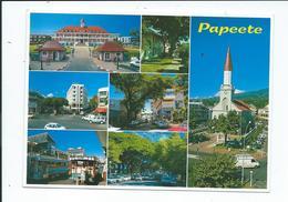 Carte Postale Multi-vues De Papeete - Polinesia Francesa