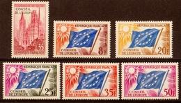 1958/59  Timbres De Service  N° 16 à 21  Neufs**  SERIE COMPLETE - Dienstpost