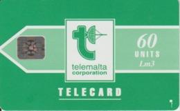 "Malta Phone Card ""Telemalta Corporation"" - Malta"
