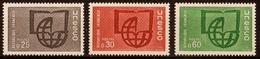 1966  Timbres De Service  N° 36 à 38  Neufs**  SERIE COMPLETE - Dienstpost