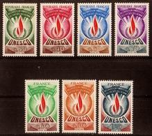 1969/75  Timbres De Service  N° 39 à 45  Neufs**  SERIE COMPLETE - Dienstpost