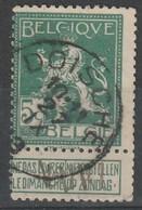COB N° 110 Oblitération DOISCHE 1913 - 1912 Pellens