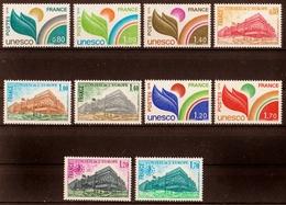 1976/78  Timbres De Service  N° 50 à 59  Neufs**  SERIE COMPLETE - Dienstpost