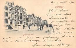 Oostende Ostende  Zeedijk Dijk La Digue De Mer     M 1910 - Oostende
