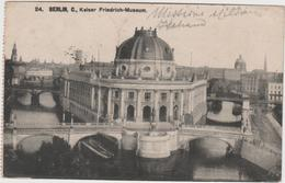 8766 Eb.   Missione Militare Italiana In Germania - Berlin - Kaiser Friedrich Museum 1912 FP VF - Germany