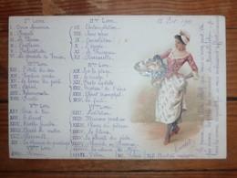 CPA / Carte Postale Ancienne / 1901/  Illustration - Illustrators & Photographers